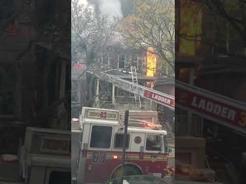 Bronx Four-Alarm Fire