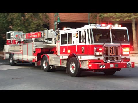 Reading, PA Fire Department New Ladder 1