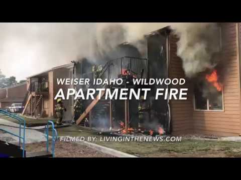 Weiser, ID Apartment Fire