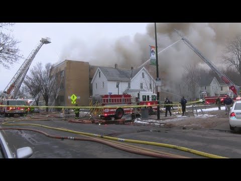 Rochester, NY Five-Alarm Fire