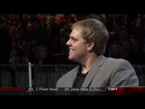 Phil Kessel goes last in NHL All-Star draft - Jan 28th 2011 (HD)