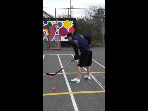 Seattle Street Hockey hardest shot contest (01/28/2012)