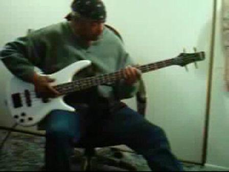 Renny J Slappin On The Bass