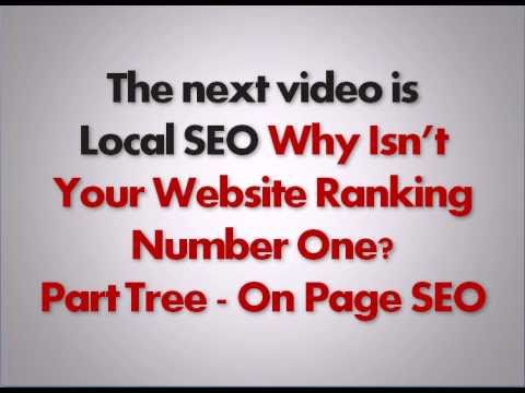 Local SEO Why Isnt Your Website Ranking # 1 Part 2