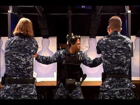 Navy Boot Camp: Small arms training