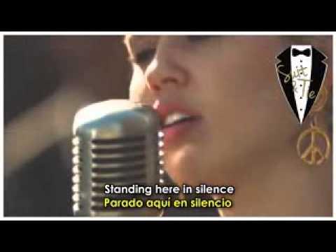 Miley Cyrus - No freedom (lyric ingles español)