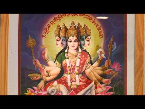 Gayatri Mantra in schneller Rezitation