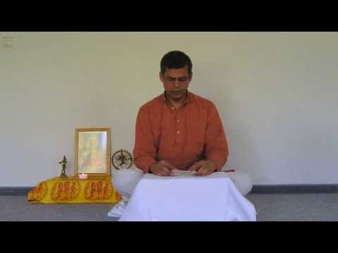 Harilalji Chants Chapter 5 of the Bhagavad Gita