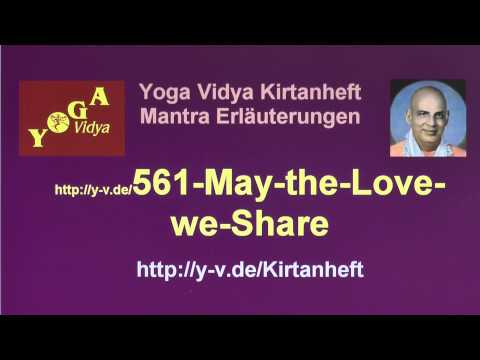 May the Love we Share - Interpretation 561