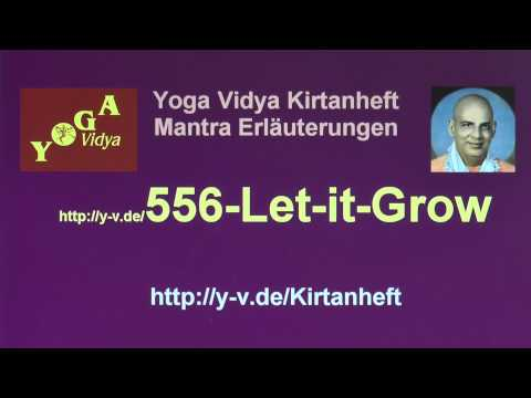 Let it Grow - Erklärungen 556