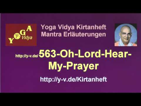 Oh Lord Hear My Prayer - Erläuterungen zum Taize Lied 563