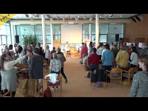 Aktive Pause - Business Yoga Kongress 2018