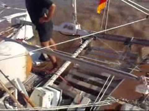 "Sailingo on ""Aorai"" (junk rig Tangaroa Mk IV)"