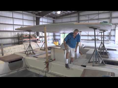 Ariki 48 Sailing Catamaran | Build Update | 10 November 2013