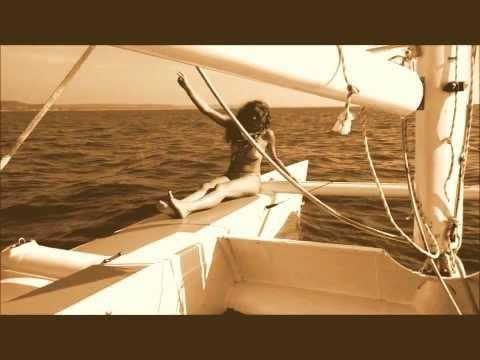 Homemade Catamaran Sailboat 8 meter, Arabian sea - Kelly Mor Art World ©