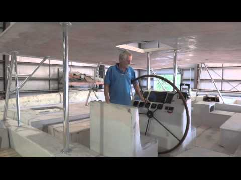 Ariki 48 Sailing Catamaran Build Update