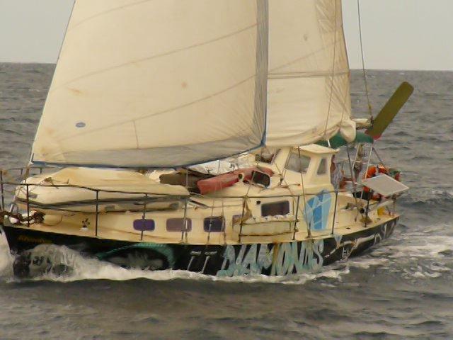Rhombus, a sailing yacht around the world