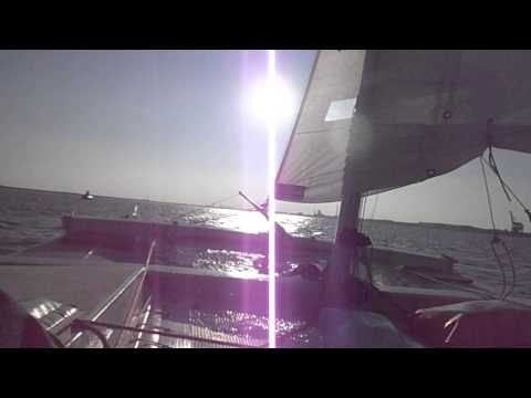 tiki 21 sailing to the sun