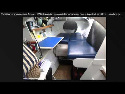 "Tiki 46 james wharram for sale ""wakataitea"""