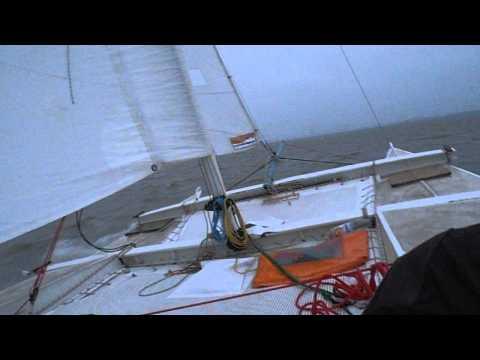 Tiki 21 fast autum sailing