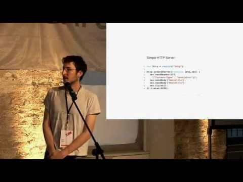 Ryan Dahl: Original Node.js presentation