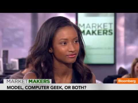Model Lyndsey Scott Talks Developing Apps
