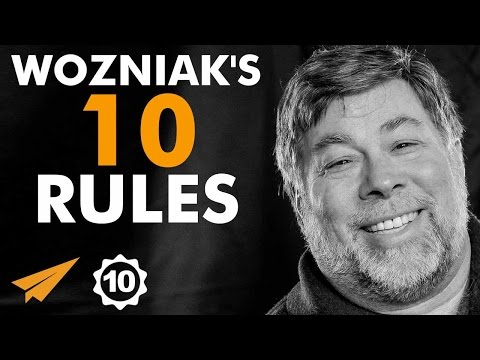 Steve Wozniak's Top 10 Rules for Success