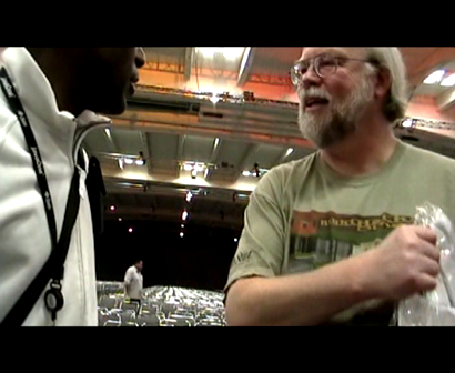 James Gosling and I are talking about CongoJUG