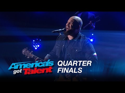 "Benton Blount: Singer Surprises with ""Say Something"" Cover - America's Got Talent 2015"