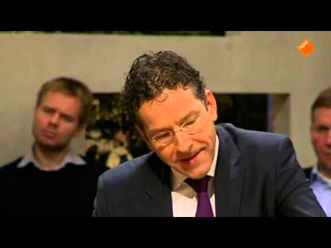 Jeroen Dijsselbloem over de problemen bij Nederlandse hypotheken.