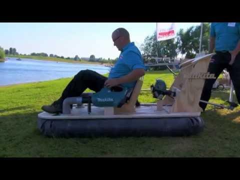 Hoe maak je met je Makita een hovercraft?