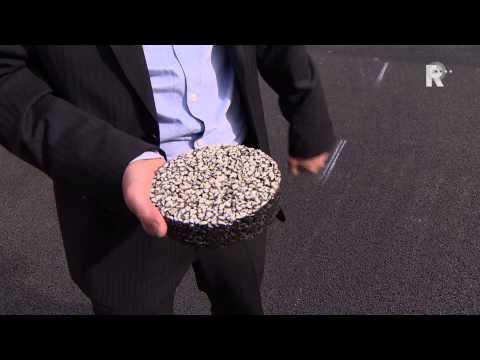 Rotterdam kiest voor besparend 'wit' asfalt.