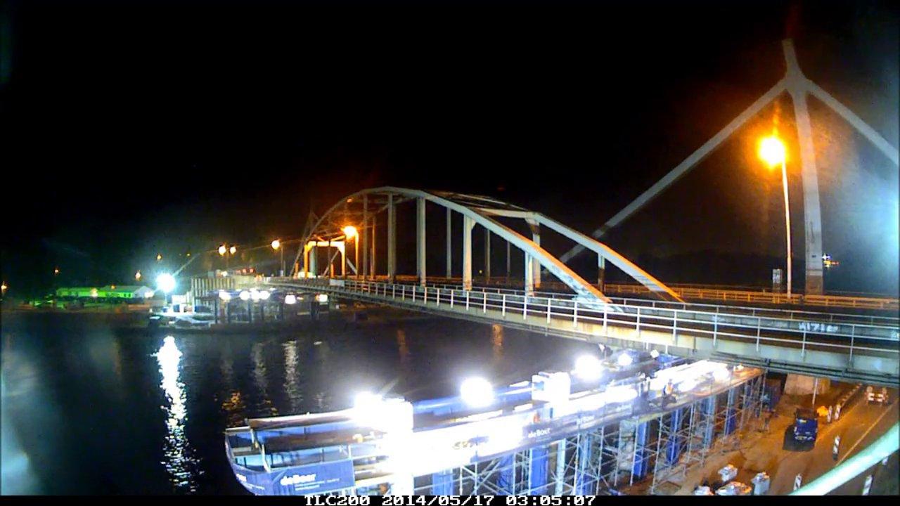 Infra in beeld, Jutphasebrug Utrecht gerenoveerd.