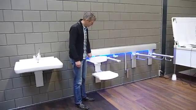 MCS spoel föhn toilet