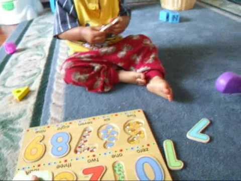 JT playing the numbers puzzle