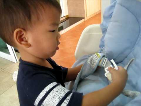 "MK s new hobby part 2 & His first English words "" )"