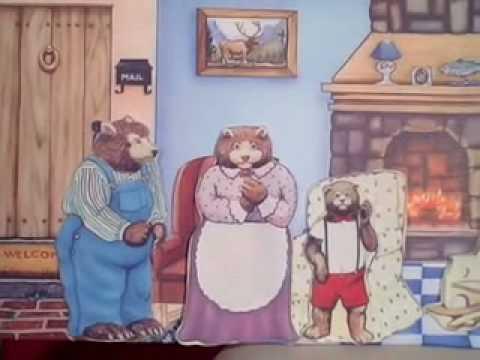 Goldilocks & The Three Bears Story