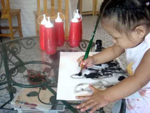 2 Years old kids art