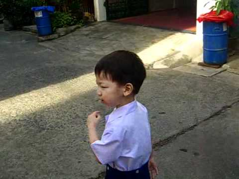 Walking To School CIMG5859.AVI