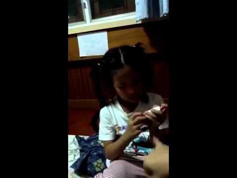 KM exams her mommy.avi