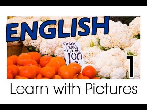 Learn English - English Vegetable Vocabulary