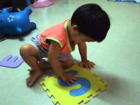 Learn to write. Kubkhun @ 2.1 years.