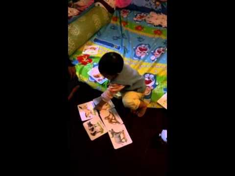 น้องรัลเล่นเกมส์กับปาป๊า