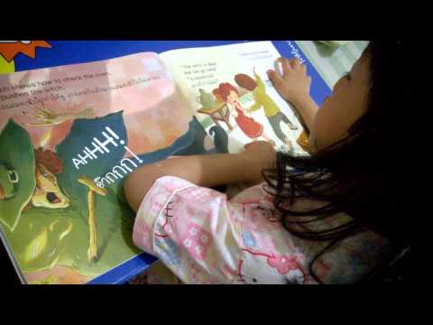 Sofwana @4.02 yrs can read ฺBig Story Books by herself (25/06/2014)