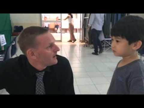 น้องกานต์ ตอน คุยกับคุณครูต่างชาติ