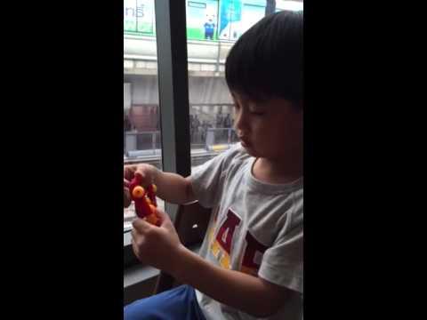 น้องกานต์ ตอน Review BubbleBee and Ranchet toys