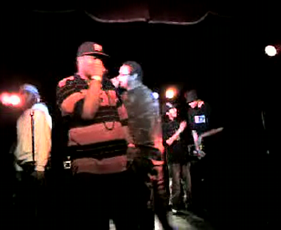 """M.C. WAR FLATTOP"" AT THE ""LYRICAL FUSION SOUTHPAW"" VIDEO TAPEING THA SHOW Pt.20"