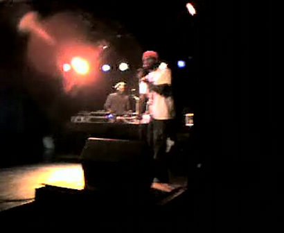 """M.C. WAR FLATTOP"" AT THE ""LYRICAL FUSION SOUTHPAW"" VIDEO TAPEING THE SHOW Pt.17"