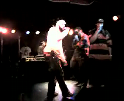 """M.C. WAR FLATTOP"" AT THE ""LYRICAL FUSION SOUTHPAW"" VIDEO TAPEING THA SHOW Pt.21"