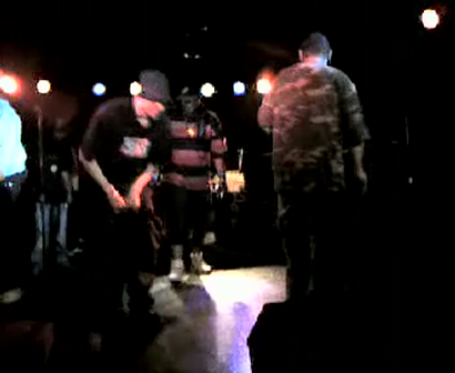 """M.C. WAR FLATTOP"" AT THE ""LYRICAL FUSION SOUTHPAW"" VIDEO TAPEING THA SHOW Pt.22"